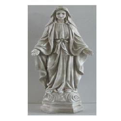 "28.25"""" Standing Religious Virgin Mary Outdoor Garden Statue"
