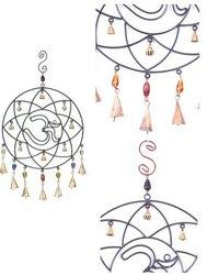 Iron Om Wind Chime