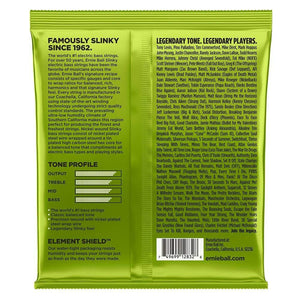 Ernie Ball Nickel Wound Electric Bass Strings Back
