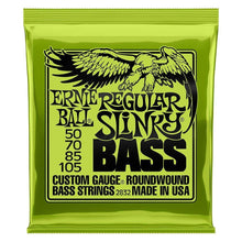 Load image into Gallery viewer, Ernie Ball Nickel Wound Electric Bass Strings Front