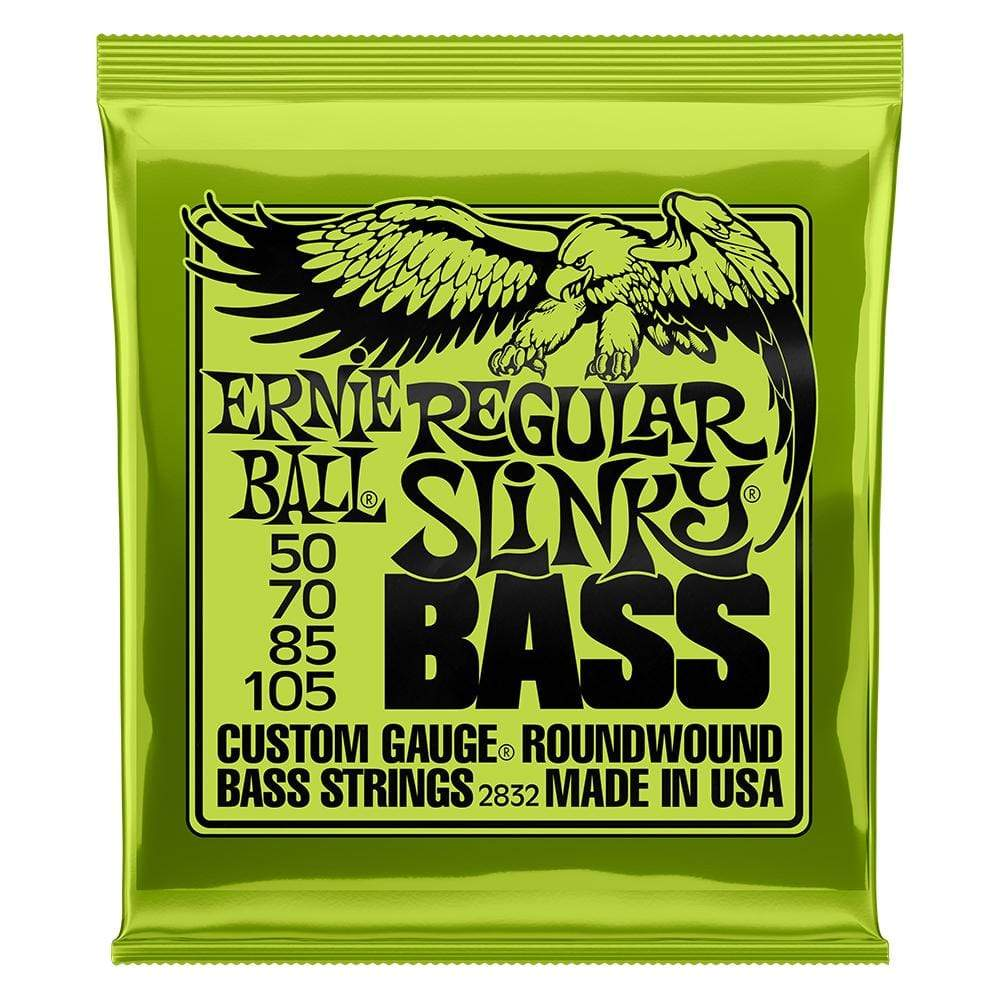 Ernie Ball Nickel Wound Electric Bass Strings Front