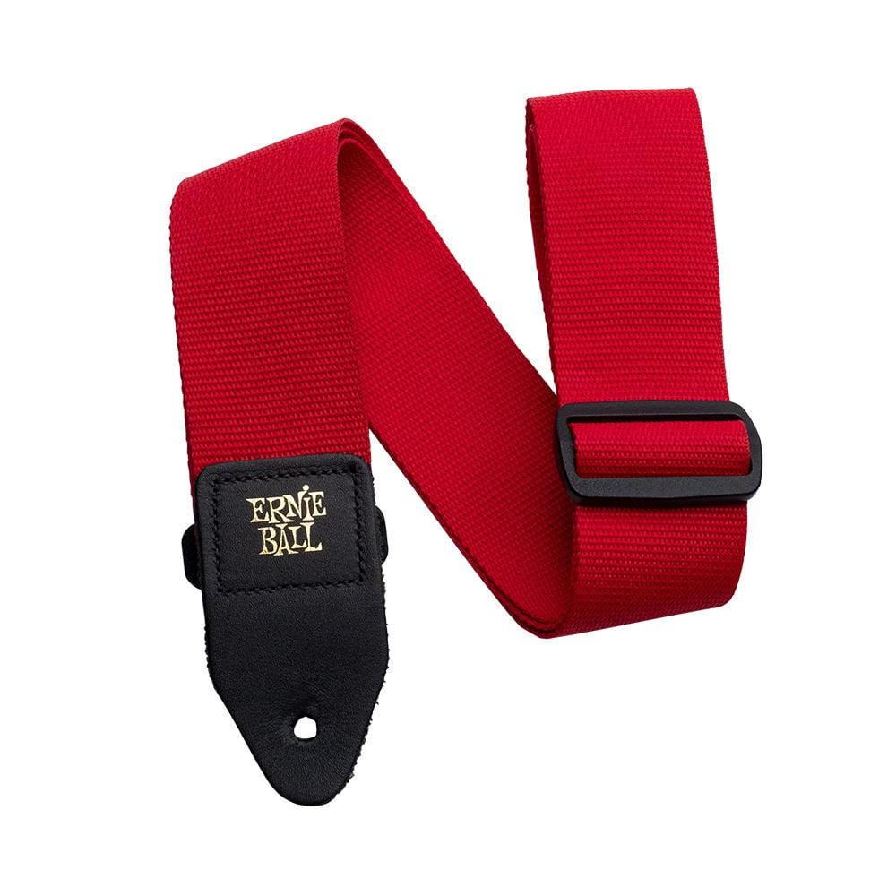 Polypro Guitar Strap - Red