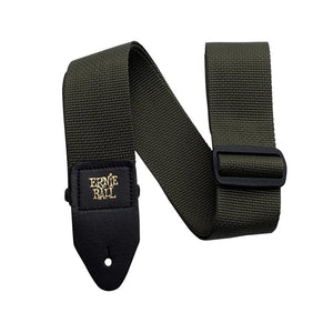 Polypro Guitar Strap - Army Green