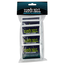Load image into Gallery viewer, Ernie Ball Wonder Wipes String Cleaner 20 Pack Front
