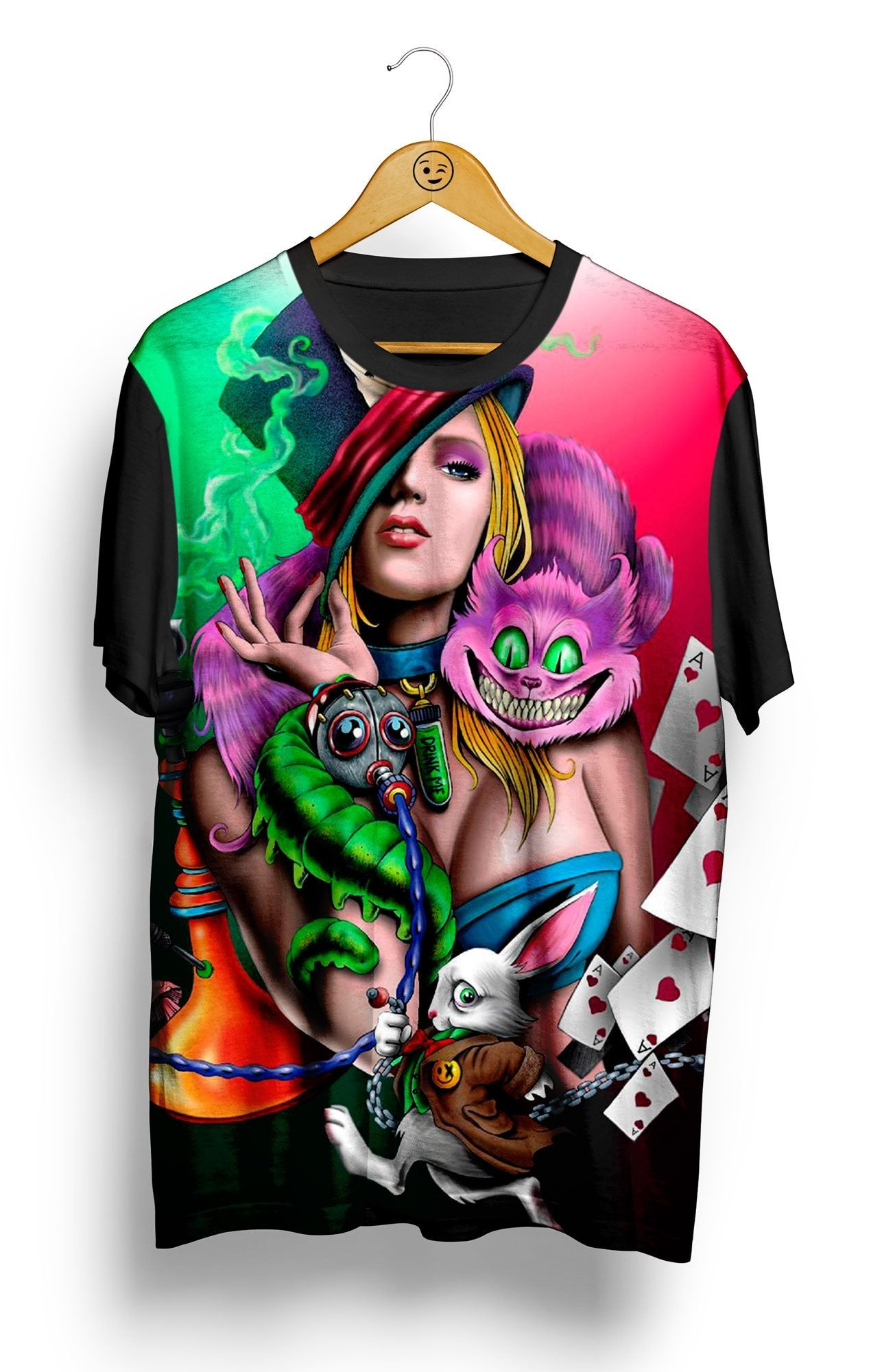 Camiseta Smoking Alice - Locamisetas