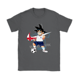 2018 World Cup England Team Goku Dragon Ball X Nike Shirts | 2018 World Cup Dragon Ball Mashup Nike Soccer