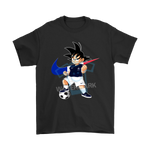 2018 World Cup France Team Goku Dragon Ball X Nike Shirts | 2018 World Cup Dragon Ball France Mashup Nike