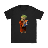 3D Groot I Love Chicago Bears Nfl Football Shirts | Chicago Bears Football Groot Guardians Of The Galaxy Mashup
