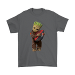 3D Groot I Love Cleveland Browns Nfl Football Shirts | Cleveland Browns Football Groot Guardians Of The Galaxy Mashup