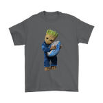 3D Groot I Love Detroit Lions Nfl Football Shirts | Detroit Lions Football Groot Guardians Of The Galaxy Mashup