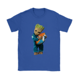 3D Groot I Love Miami Dolphins Nfl Football Shirts | Football Groot Guardians Of The Galaxy Mashup Miami Dolphins