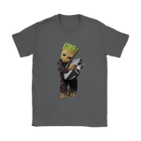 3D Groot I Love Oakland Raiders Nfl Football Shirts | Football Groot Guardians Of The Galaxy Mashup Nfl