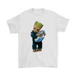 3D Groot I Love Philadelphia Eagles Nfl Football Shirts | Football Groot Guardians Of The Galaxy Mashup Nfl