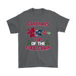 Arizona Cardinals Top Of The Food Chain NFL Shirts