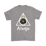 Always Love The New Orleans Saints x Harry Potter Mashup Shirts