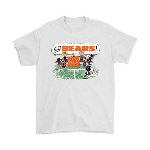 52ad3707a The Peanuts Cheering Go Snoopy Chicago Bears Shirts – Tee x Tee
