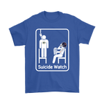Chicago Bears Suicide Watch With Popcorn NFL Shirts