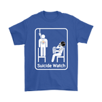 Baltimore Ravens Suicide Watch With Popcorn NFL Shirts