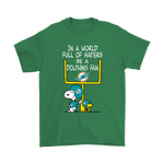 Be A Dolphins Fan Miami Dolphins x Snoopy Mashup Shirts