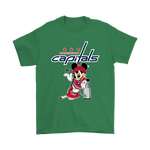 Mickey Washington Capitals With The Stanley Cup Hockey Nhl Shirts | Disney Ice Hockey Mickey Mouse Nhl Sport
