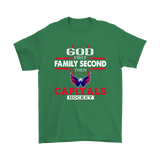 God First Family Second Then Washington Capitals Hockey Shirts | Family God Ice Hockey Nhl Sport