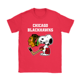 Chicago Blackhawks Ice Hockey Broken Teeth Snoopy Nhl Shirts | Chicago Blackhawks Ice Hockey Mashup Nhl Snoopy
