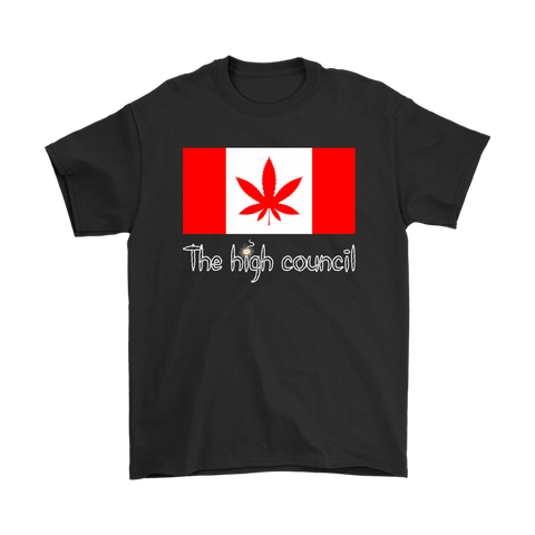 The High Council Canada Cannabis Shirts