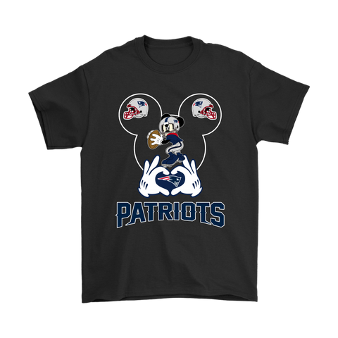 I Love The Patriots Mickey Mouse New England Patriots Shirts