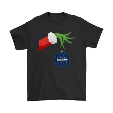 The Grinch Christmas Decoration Seattle Seahawks NFL Shirts