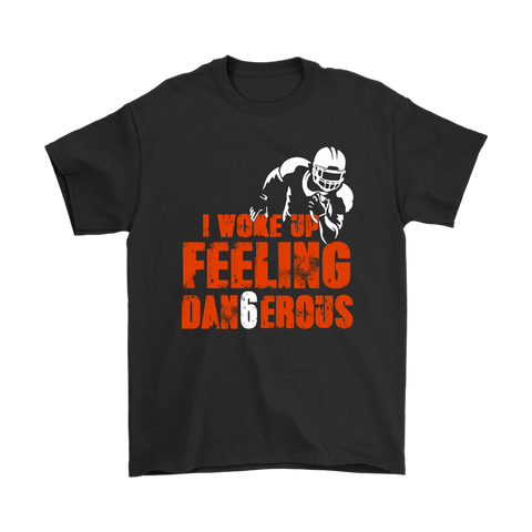 Baker Brown Mayfield Feeling Dangerous Dan6erous Football Shirts