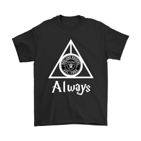 Always Love The Oakland Raiders x Harry Potter Mashup Shirts