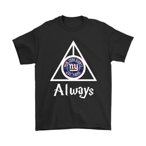 Always Love The New York Giants x Harry Potter Mashup Shirts
