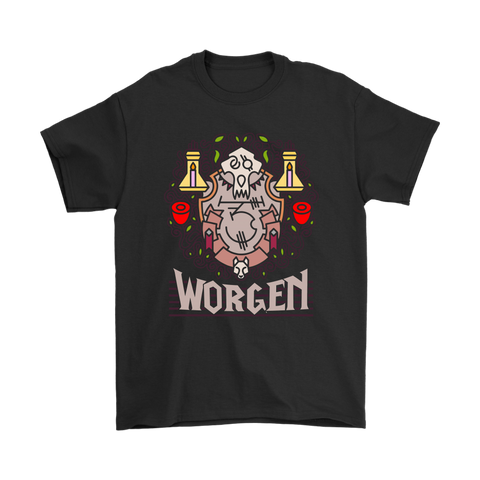 Born To Be A Worgen World Of Warcraft Shirts