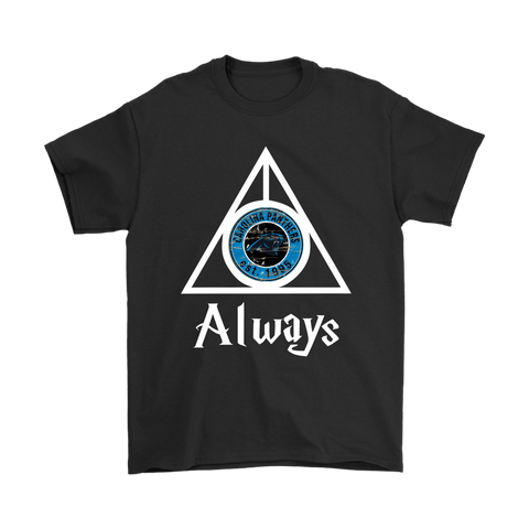 Always Love The Carolina Panthers x Harry Potter Mashup Shirts