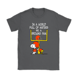 Be A Browns Fan Cleveland Browns x Snoopy Mashup Shirts