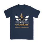 A-Badass Vegas Golden Knights Fan X Adidas Logo Nhl Shirts | A-Badass Adidas Ice Hockey Mashup Nhl
