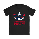A-Badass Washington Capitals Fan X Adidas Logo Nhl Shirts | A-Badass Adidas Ice Hockey Mashup Nhl