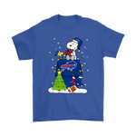A Happy Christmas With Buffalo Bills Snoopy Shirts | Buffalo Bills Christmas Football Holiday Mashup