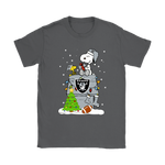 A Happy Christmas With Oakland Raiders Snoopy Shirts. | Christmas Football Holiday Mashup Nfl