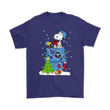 A Happy Christmas With Tennessee Titans Snoopy Shirts. | Christmas Football Holiday Mashup Nfl