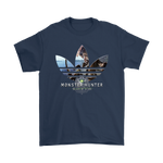 Adidas Monster Hunter World Gamer Trefoil Logo Shirts | Adidas Gamer Mashup Monster Hunter Monster Hunter World