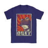 All Glory To The Hypnotoad Futurama Obey Shirts | Futurama Hypnosis Hypnotoad Obey