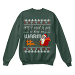 All I Need Is You To Keep Me Warm Labrador Retriever Ugly Sweater | Animal Christmas Dog Dog Lover Holiday
