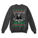 All I Want For Christmas Is Bob Dylan Ugly Sweater | Author Bob Dylan Christmas Holiday Merry Christmas