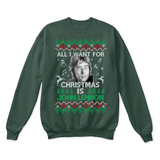 All I Want For Christmas Is John Lennon The Beatles Ugly Sweater | Band Christmas Holiday John Lennon Merry Christmas