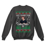 All I Want For Christmas Is Mick Jagger The Rolling Stones Ugly Sweater | Actor Christmas Composer Holiday Merry Christmas