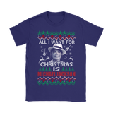 All I Want For Christmas Is Michael Jackson Shirts | All I Want Christmas Holiday Michael Jackson Music