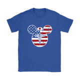America Mickey Nurse Medical Disney Mickey Mouse Shirts | American Flag Job Mickey Mickey Mouse Nurse