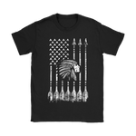 American Flag Native American Edition Shirts | America Flag Native American