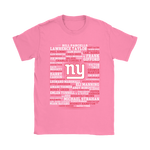 American Football All Players Team New York Giants Shirts | Football New York Giants Nfl Sport Team